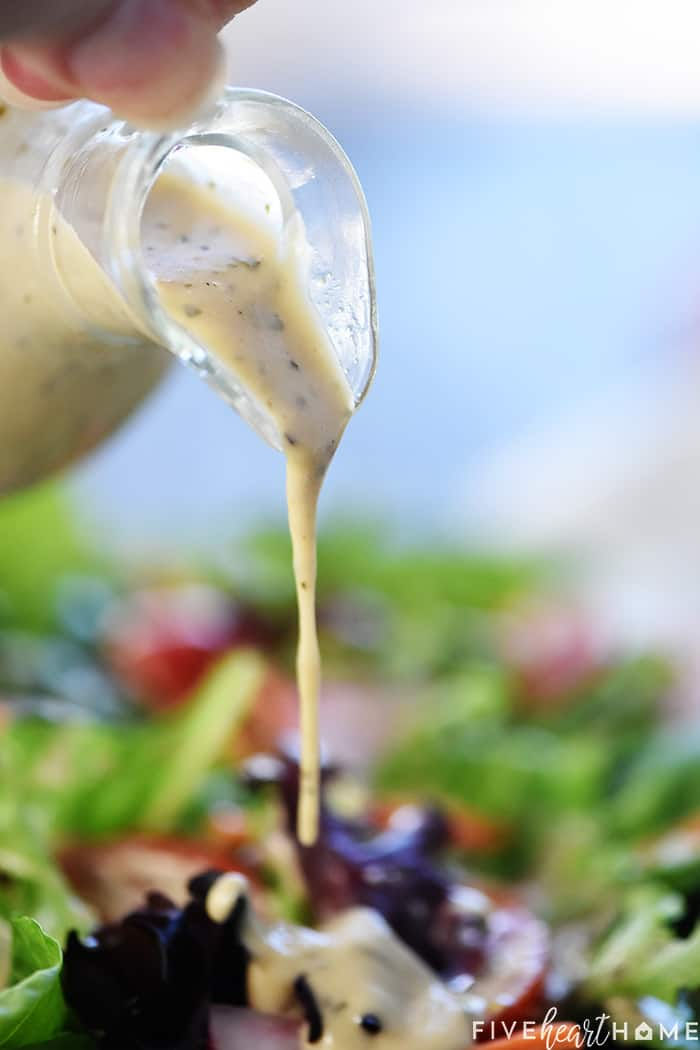 How to Make Creamy Italian Dressing