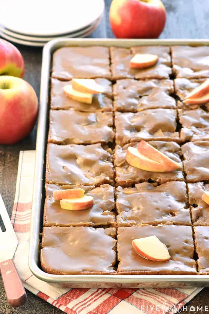Apple Sheet Cake Recipe
