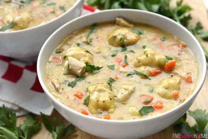 Perfect Chicken & Dumplings Recipe