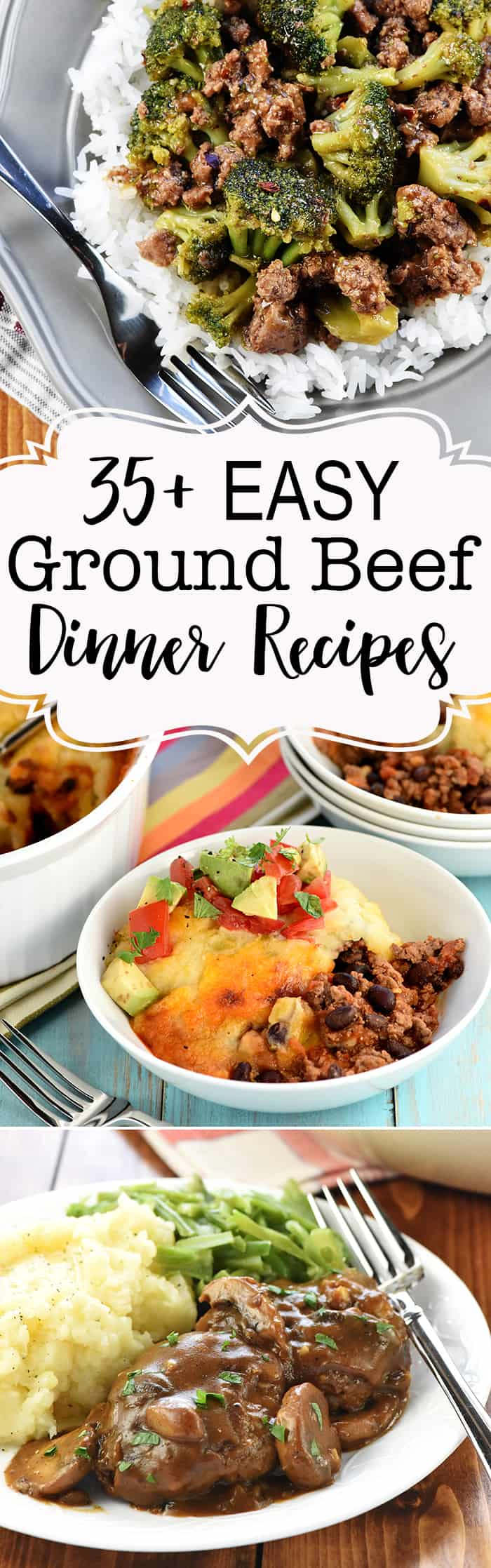 Favorite Quick Easy Ground Beef Dinner Recipes Fivehearthome