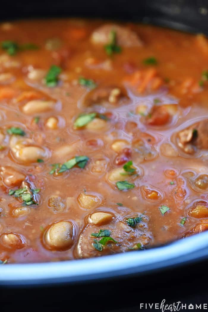 Cajun Bean Soup Crock Pot