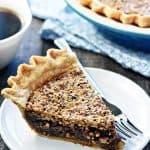 The BEST Pecan Pie.