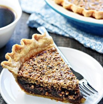 The BEST Pecan Pie.