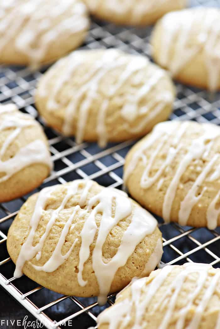 The Best Eggnog Cookies