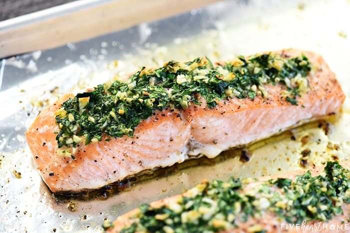 Bakeded Salmon Recipe