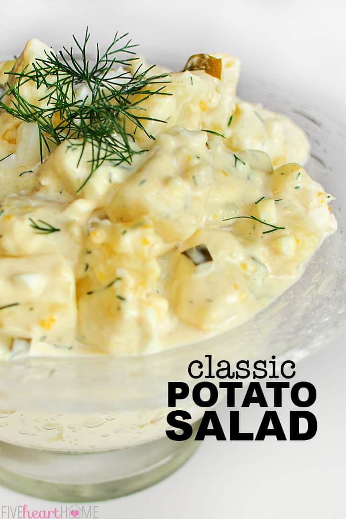 Classic Potato Salad Always A Hit Fivehearthome