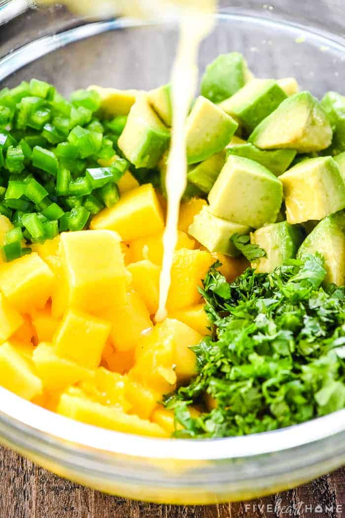 how to make mango salsa