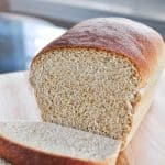 The Very BEST Whole Wheat Bread is the softest, moistest, fluffiest, freshest-staying, homemade, 100% whole wheat bread you've ever tried!   FiveHeartHome.com #wholewheatbread #homemadebread #wheatbread
