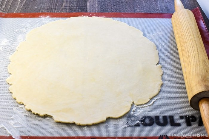 Rolling out an all butter Pie Crust